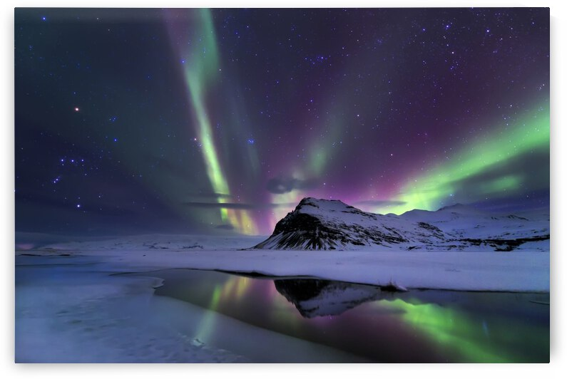 Northern Lights reflection by 1x