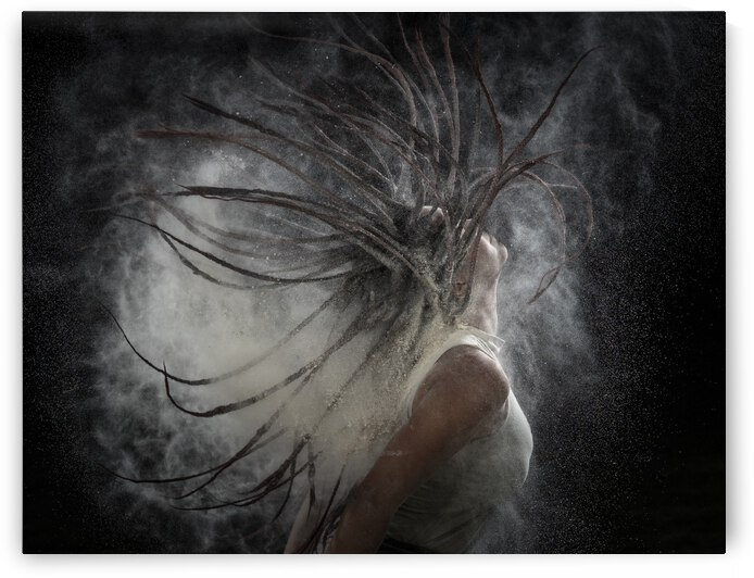 Hair with Dust by 1x