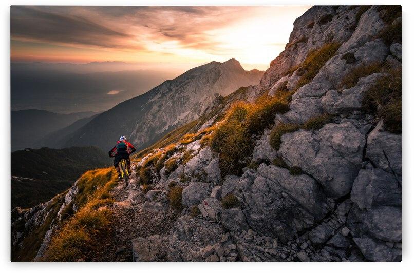 Sunset high alpine ride by 1x