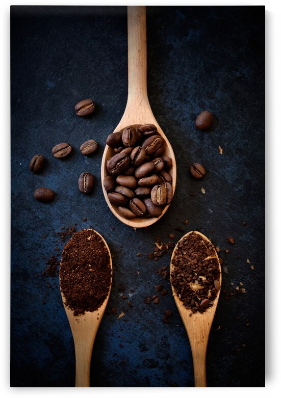 coffee beans by 1x