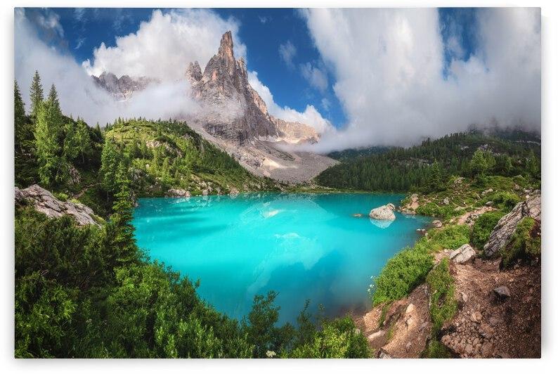 Veneto - Lago di Sorapis Panorama by 1x