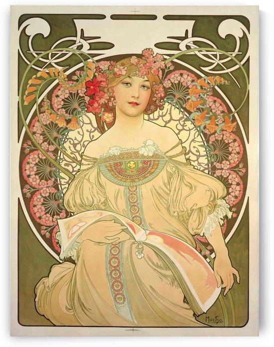Obraz by Alphonse Mucha by VINTAGE POSTER