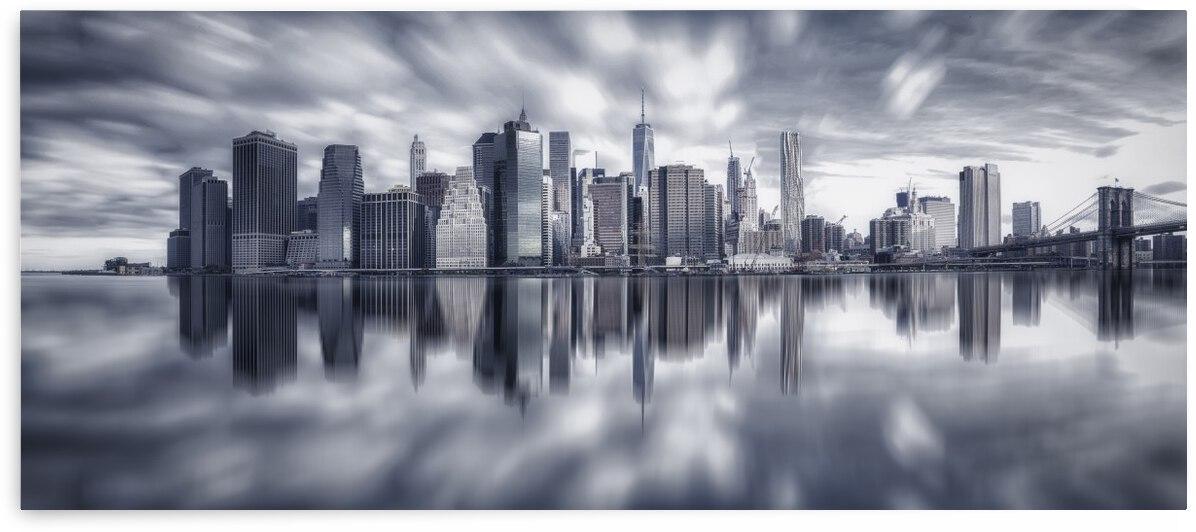 Manhattan Reflection by 1x