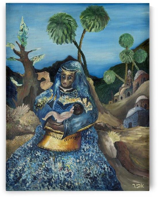 RA 043 65 - בת פרעה - Daughter of Pharaoh by Avi Romano Art
