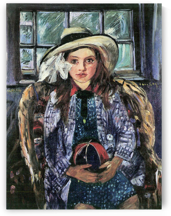 Wilhelmina with ball by Lovis Corinth by Lovis Corinth