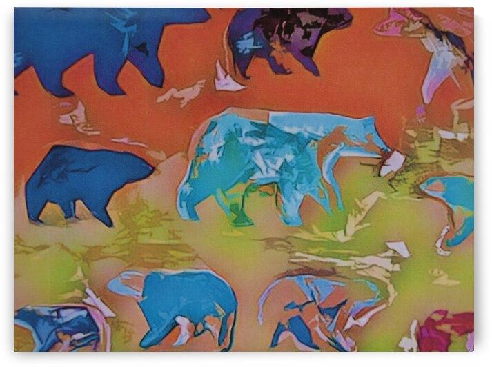 TRAVELING BEARS by Robert Owen Margetts