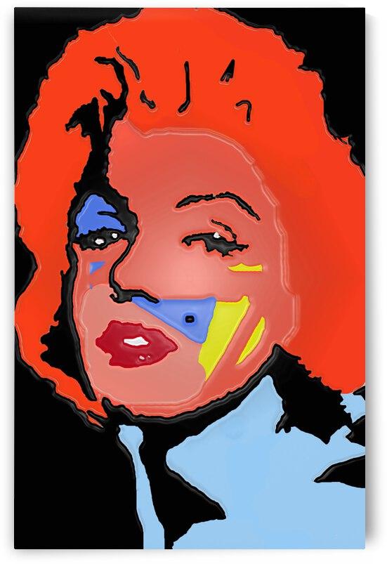 Marilyn in full color by Robert Owen Margetts