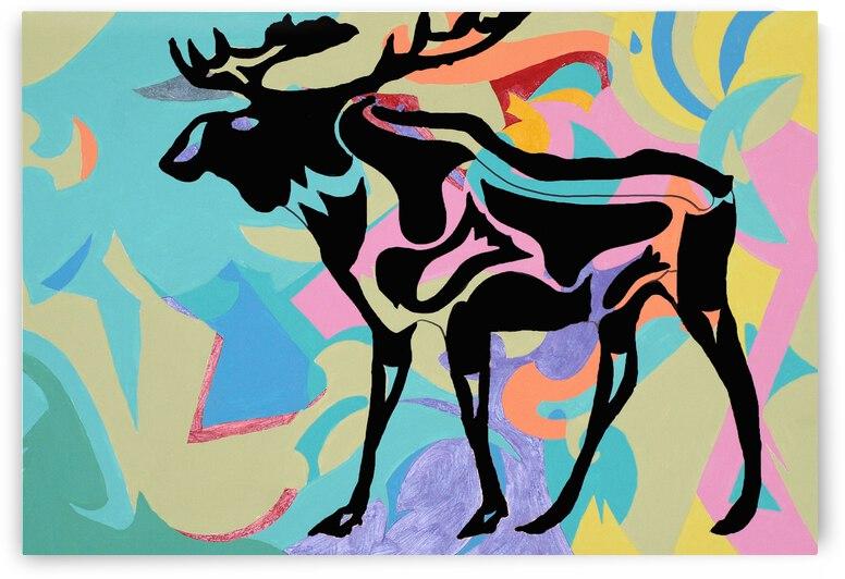 the grateful dead moose by Robert Owen Margetts