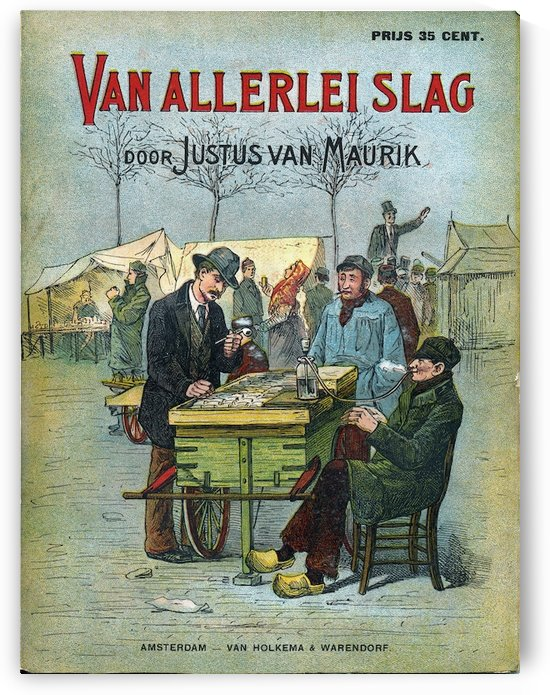 Smoking in Amsterdam by VINTAGE POSTER