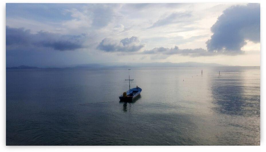 Seascape in Koh Phangan by Astrid Lutz