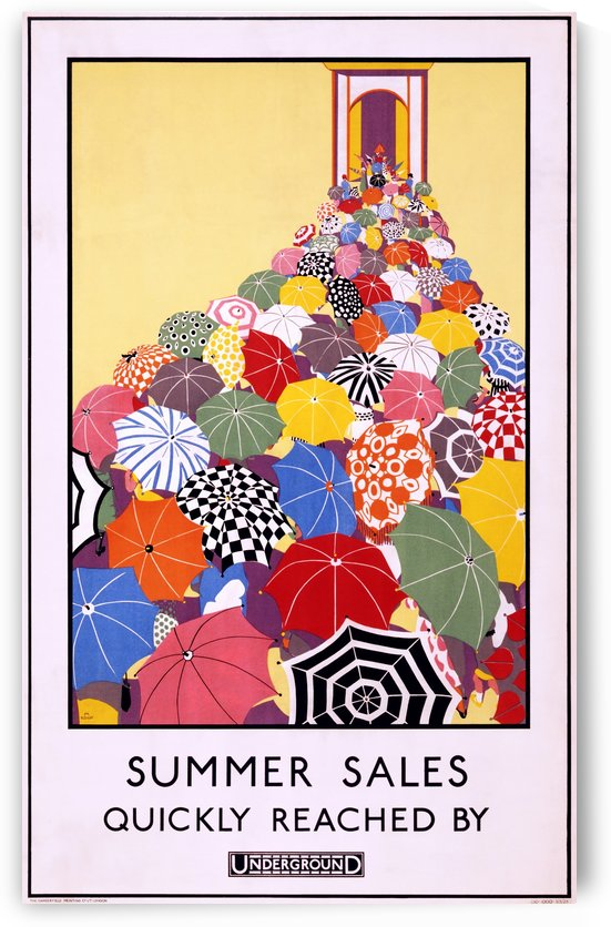 Summer Sales by VINTAGE POSTER