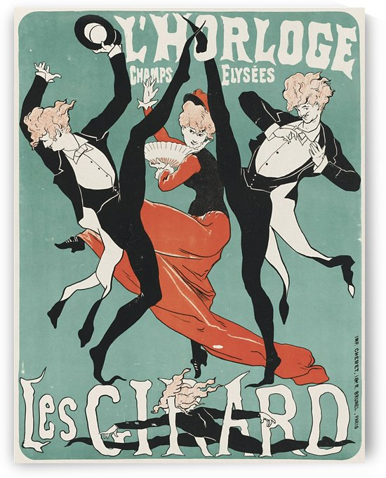 Les Girard by Jules Cheret, 1879 by VINTAGE POSTER