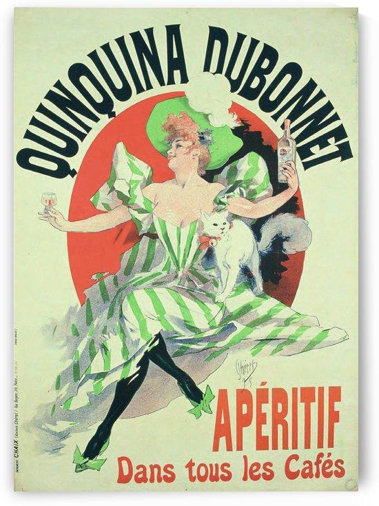Quinquina Dubonnet - Aperitif dans tous les Cafes poster by VINTAGE POSTER