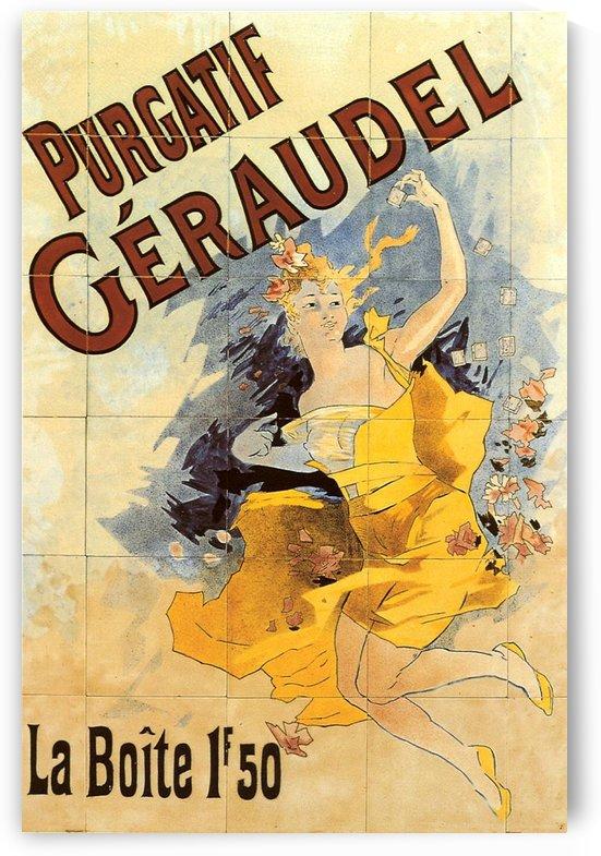 Purgatif Geraudel Poster 1890 by VINTAGE POSTER