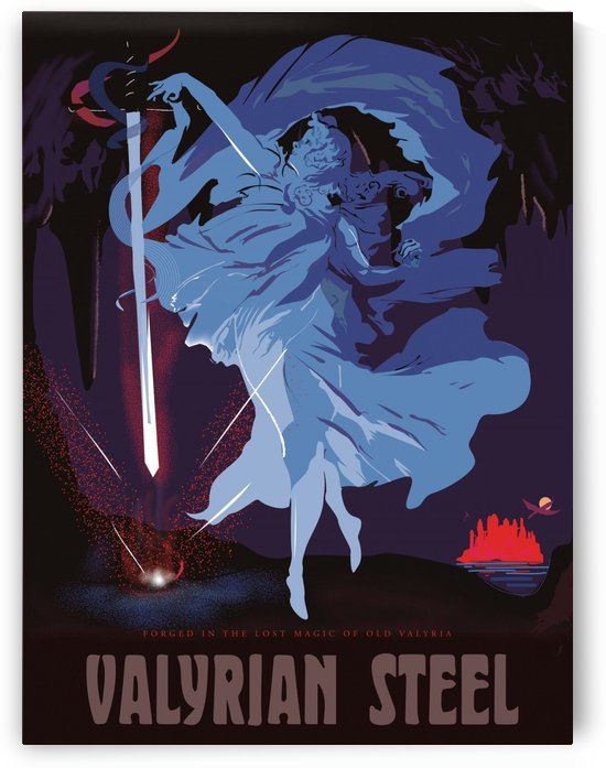 Valyrian Stell Poster by VINTAGE POSTER