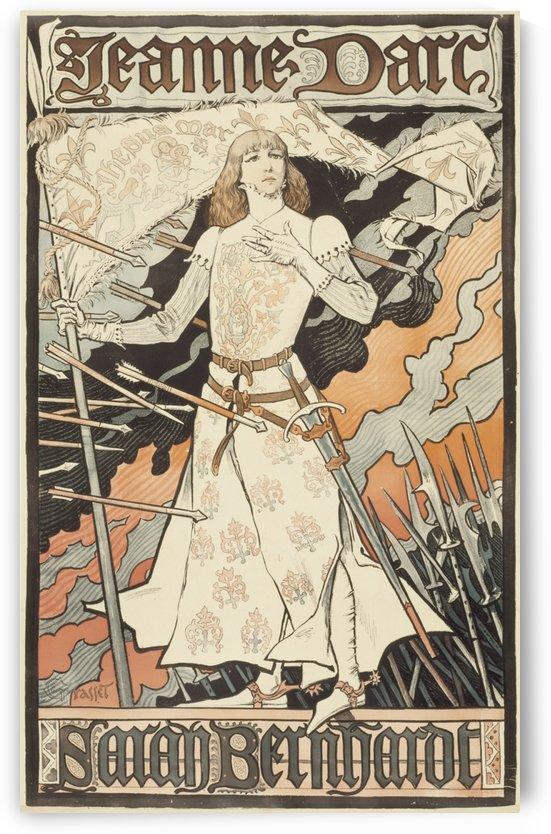 Jeanne DArc original poster by VINTAGE POSTER