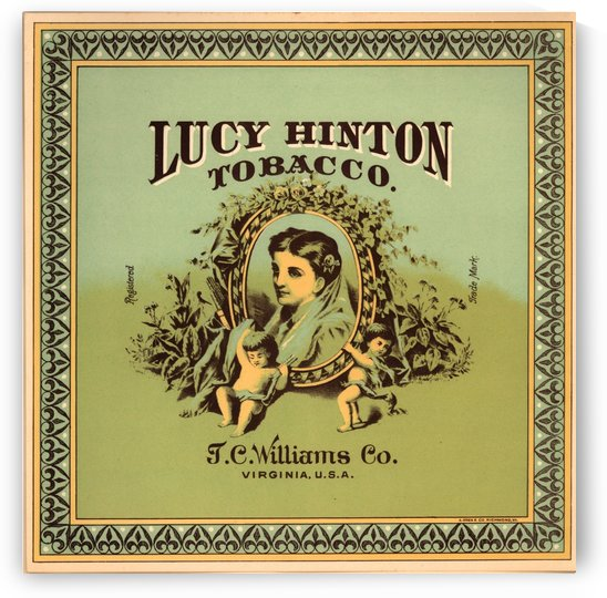 Lucy Hinton Tobacco by VINTAGE POSTER