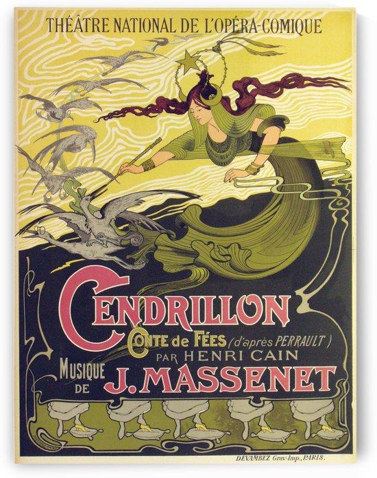 Original Cendrillon Poster by VINTAGE POSTER