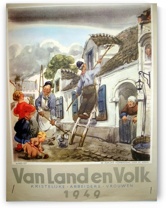 VonLandenVolk by VINTAGE POSTER