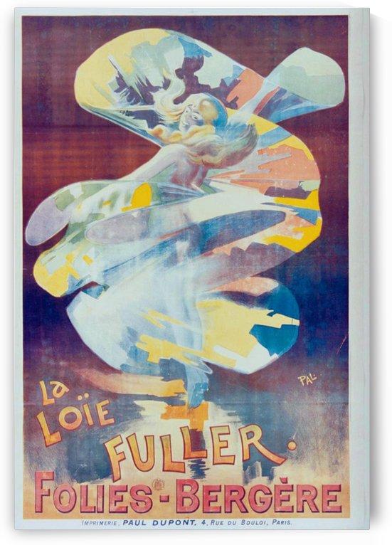 Show de Loie Fuller en el Folies-Bergere Paris, 1894 by VINTAGE POSTER