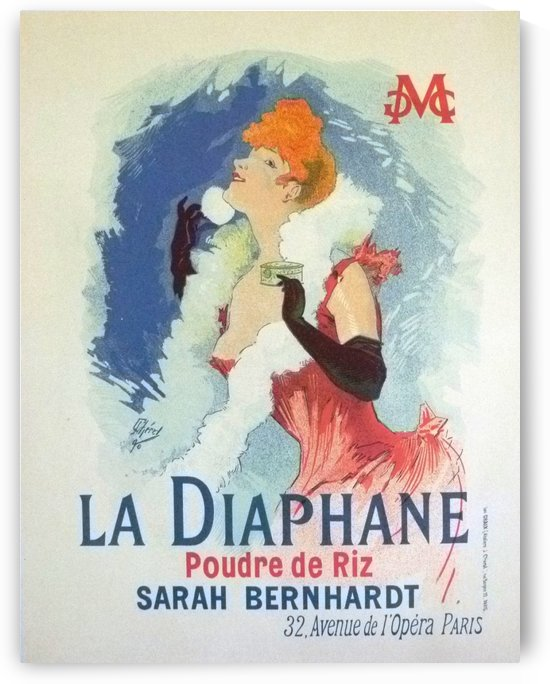 La Diaphane Vintage French Opera Poster by VINTAGE POSTER