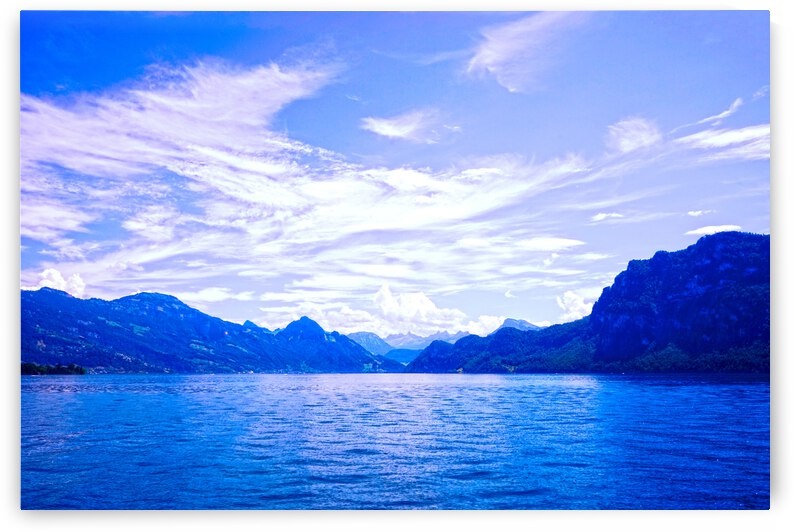 Beautiful Day  The Alps and Lake Lucerne 2 of 2 by 1North