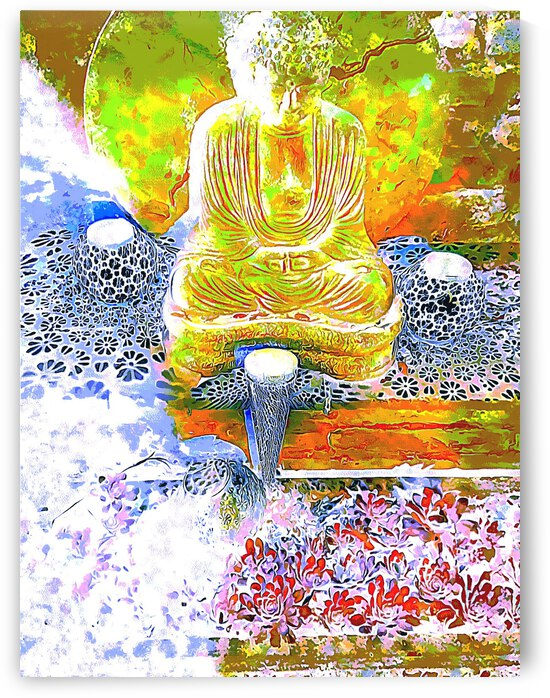 Buddha and Lights by Dorothy Berry-Lound