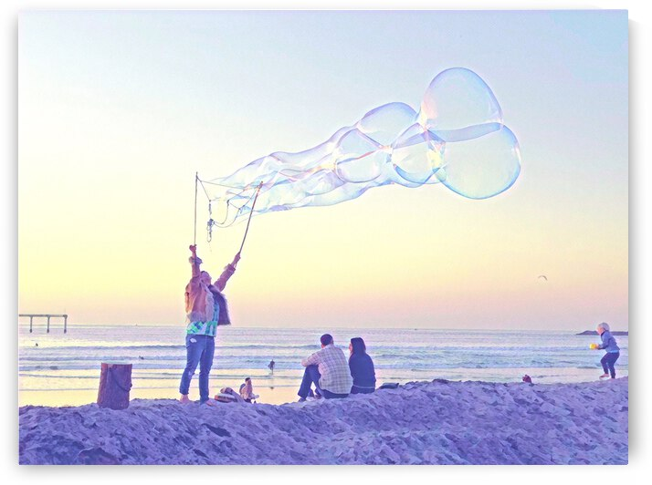 Bubbles by the Sea 4 by Mary Jo s Art Inspirations