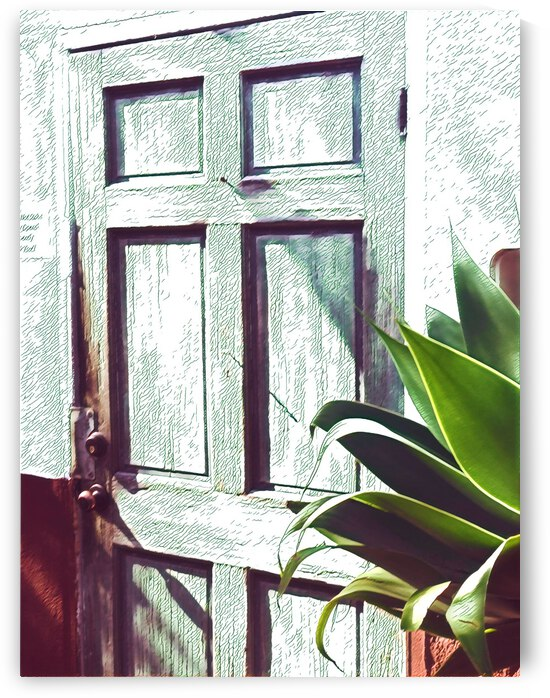 Old Town Door 3 by Mary Jo s Art Inspirations