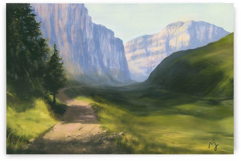 Grass Valley by Janie Molard