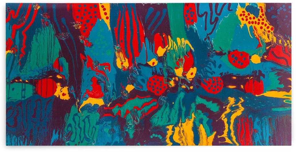 Printed Saltillo by Dianne Bartlett