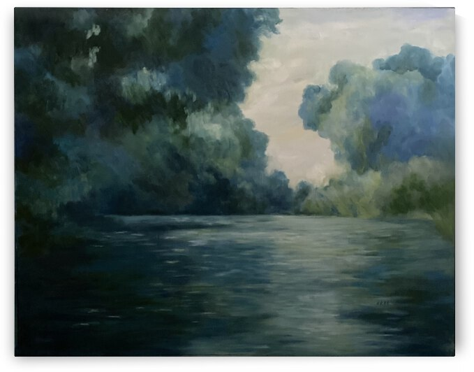 Monet study by Cene