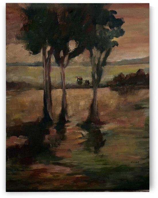Three trees by Cene