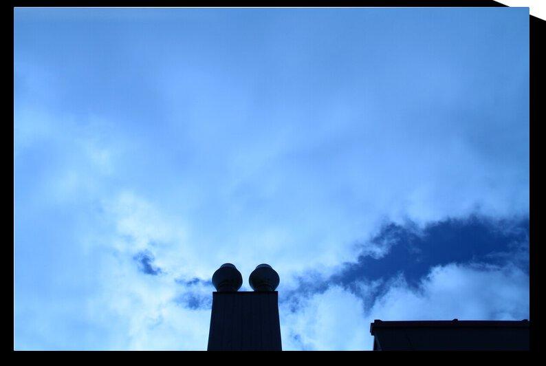 blue sky by A C Heichelmann