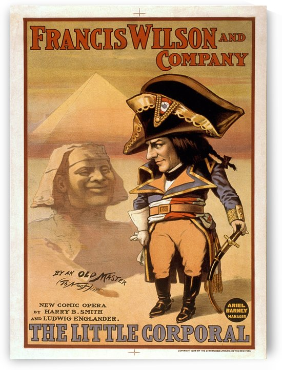 The little corporal comic opera Vintage Poster 1898 by VINTAGE POSTER