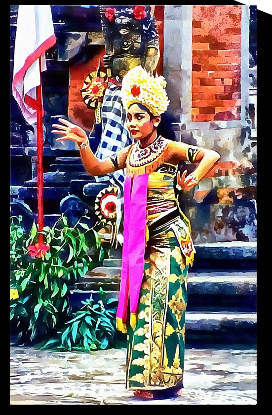 Balinese Dancer by Dorothy Berry-Lound