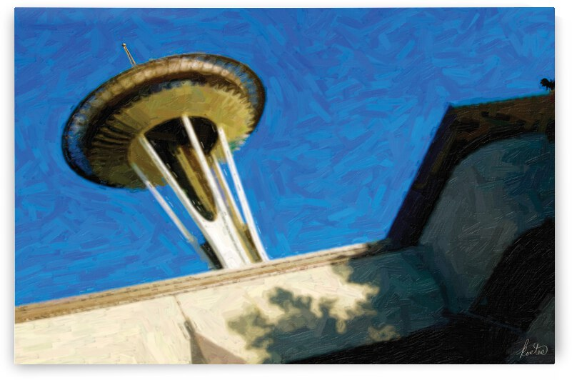 Space Needle by tom kostes photography