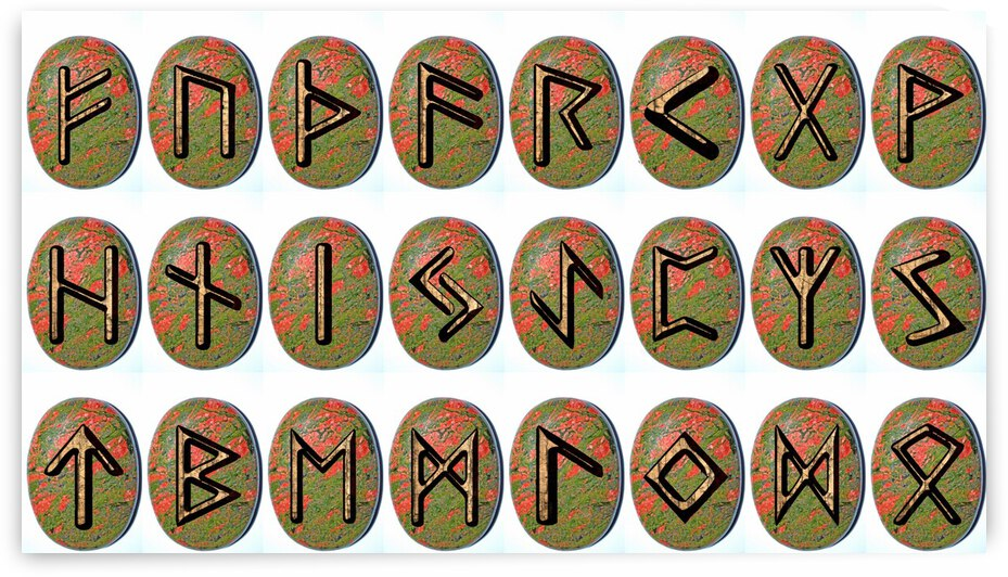 Elder Futhark Runes Set by Dorothy Berry-Lound