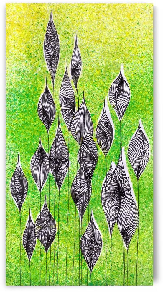 Green Leafs by Z sf art