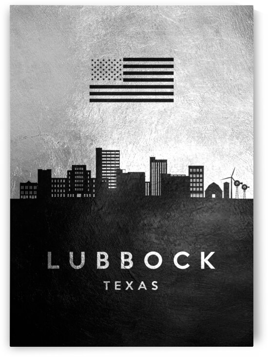 lubbock texas silver skyline 2 by ABConcepts