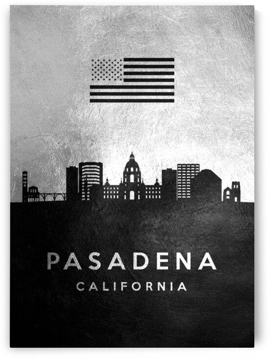 pasadena california silver skyline 2 by ABConcepts