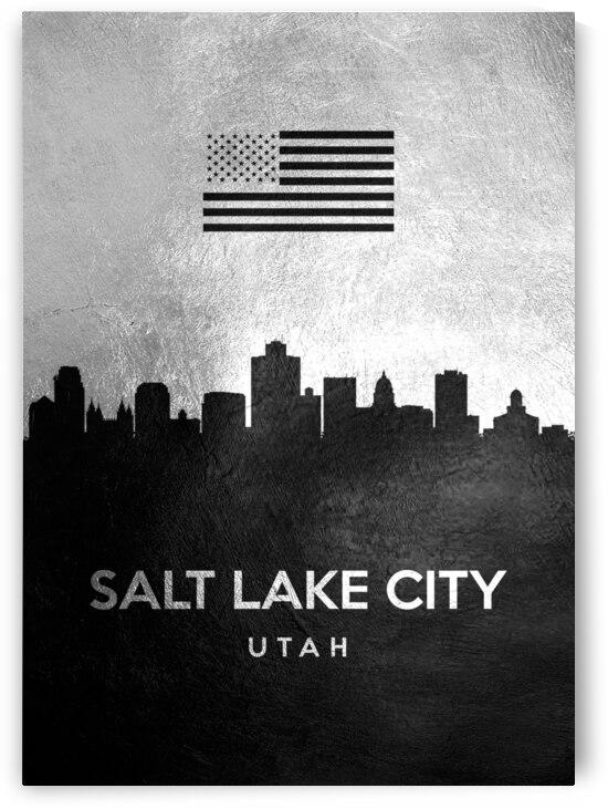 salt lake city utah silver skyline 3 by ABConcepts