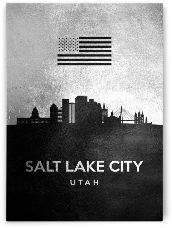 salt lake city utah silver skyline 4 by ABConcepts