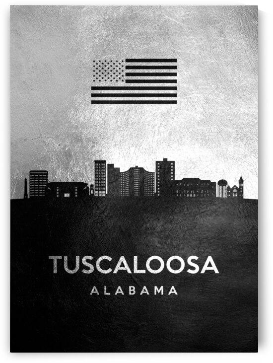 tuscaloosa alabama silver skyline 2 by ABConcepts