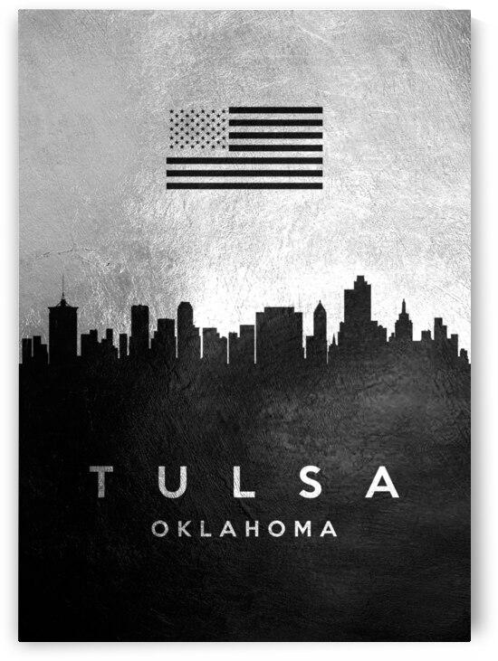 tulsa oklahoma silver skyline 2 by ABConcepts