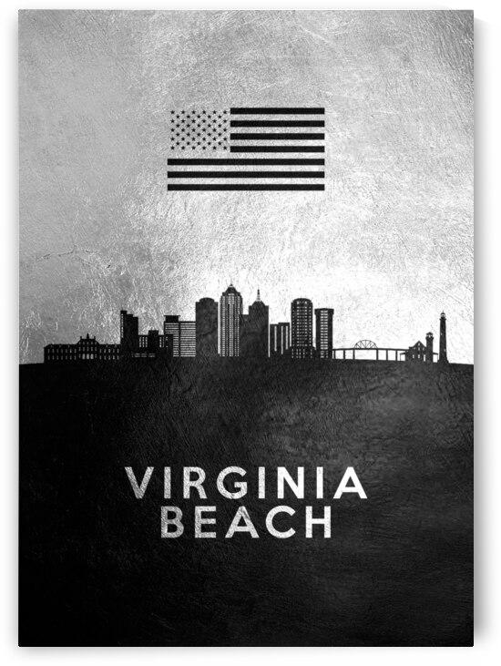 virginia beach silver skyline 2 by ABConcepts