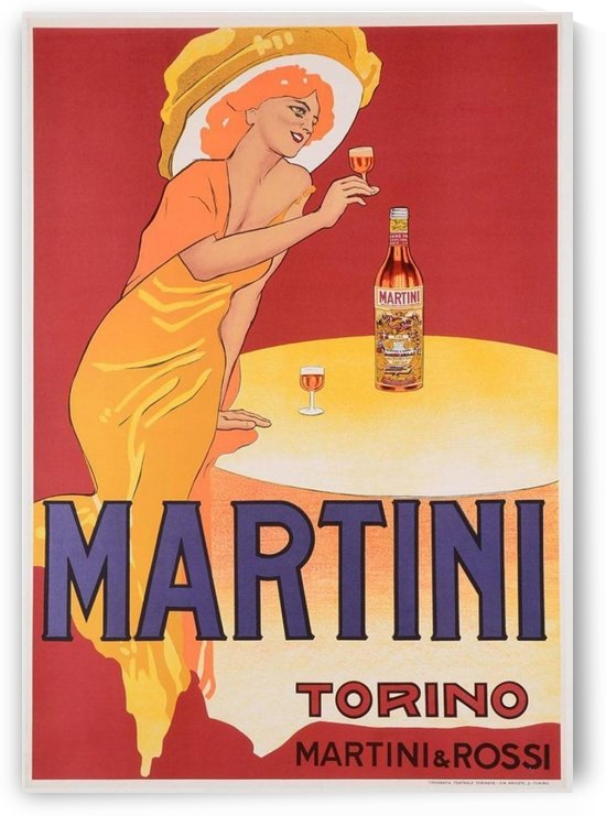 Martini Vermouth Torino Poster by VINTAGE POSTER