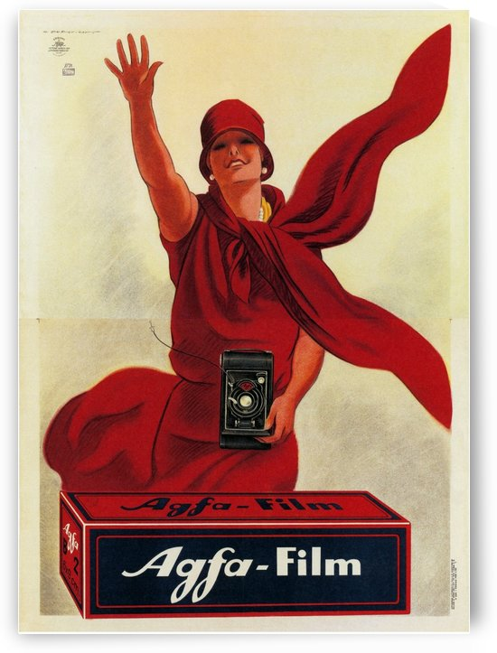 Agfa Film Poster by VINTAGE POSTER