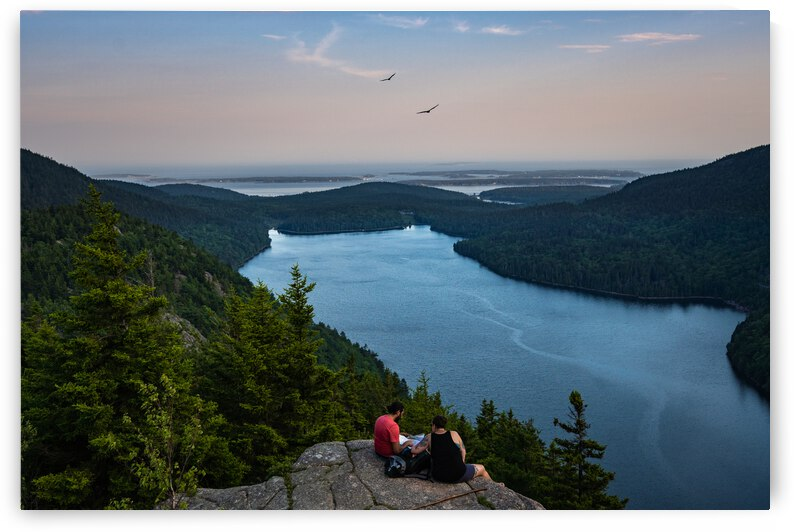 Watching over the Eagle Lake from the North Bubble by Dimitry Papkov
