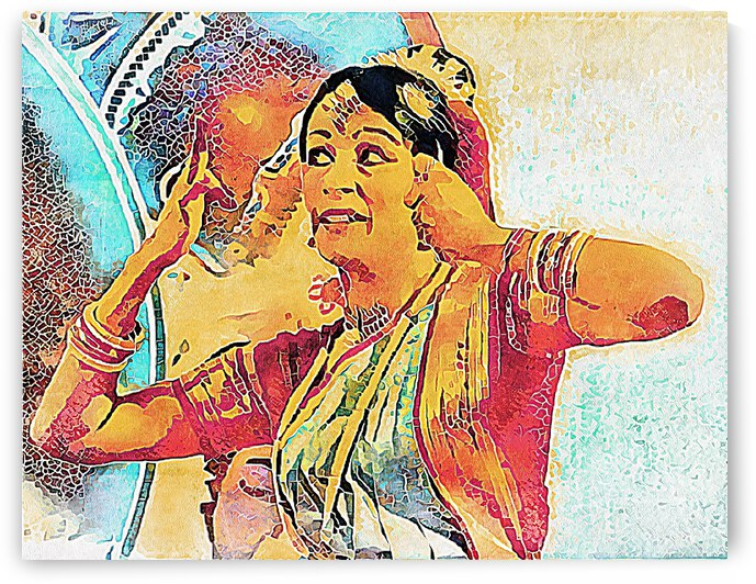 Indian Dancer by Dorothy Berry-Lound